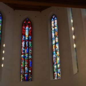 Fenster Ref. Kirche Aarau Foto: z.V.g. Pro Senectute